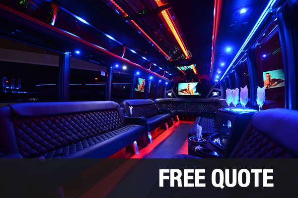 party buses for rental Winston Salem