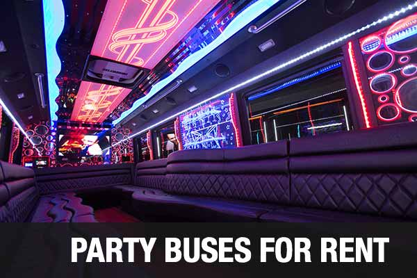 airport transportation party bus winston salem
