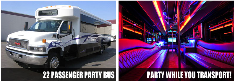airport transportation party-bus rentals winston salem
