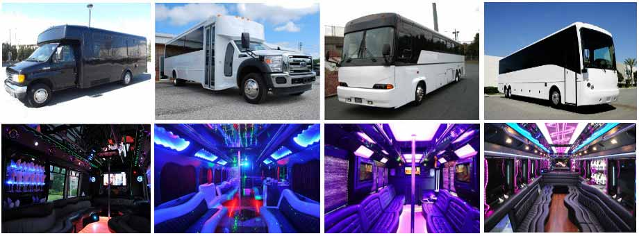 airport transportation party buses winston salem