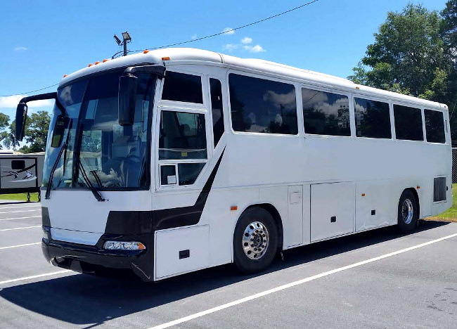 Winston Salem 36 Passenger Shuttle Bus